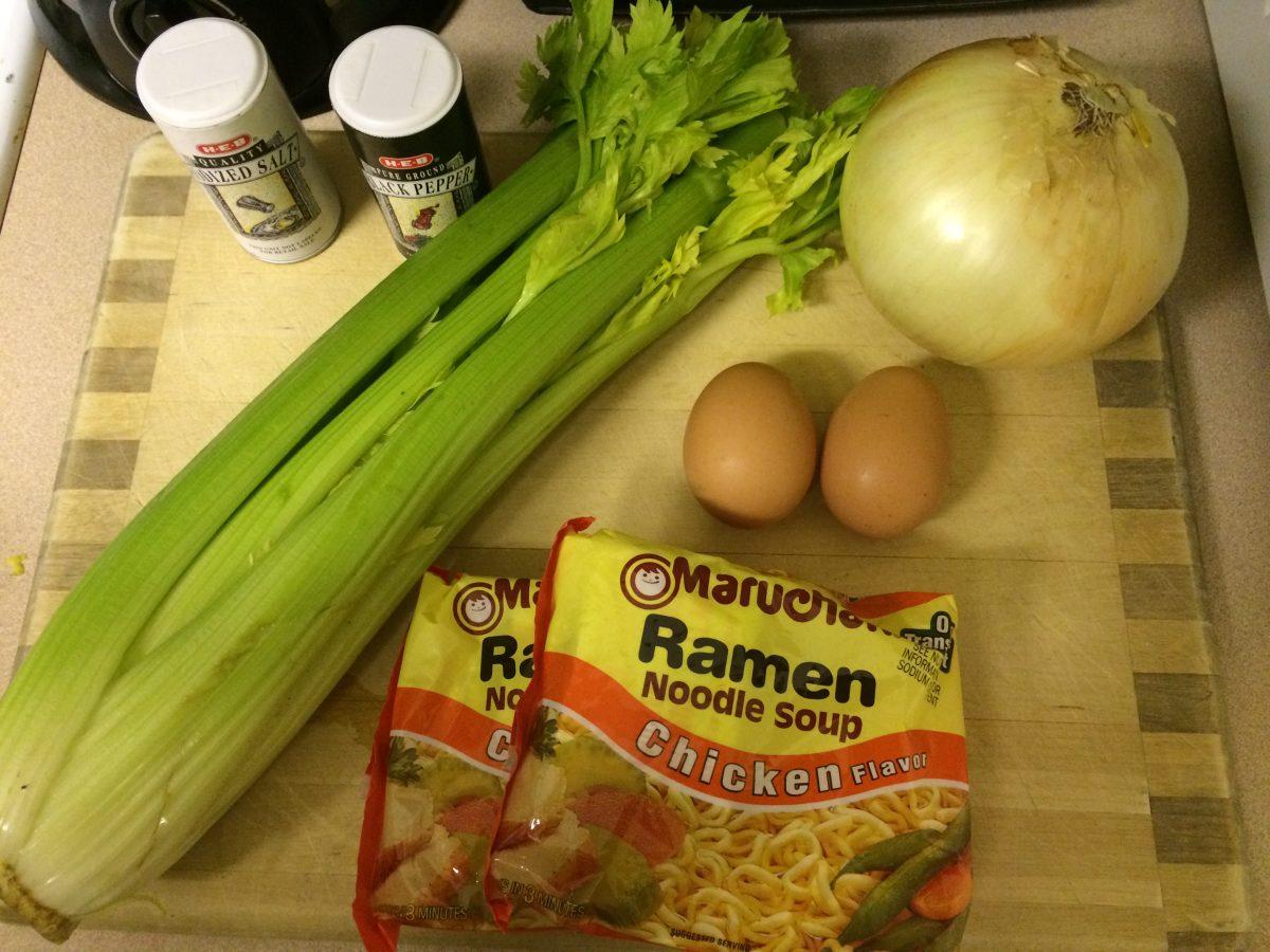 How to Make Ramen Egg-Drop Soup and Creamy Ramen Alfredo